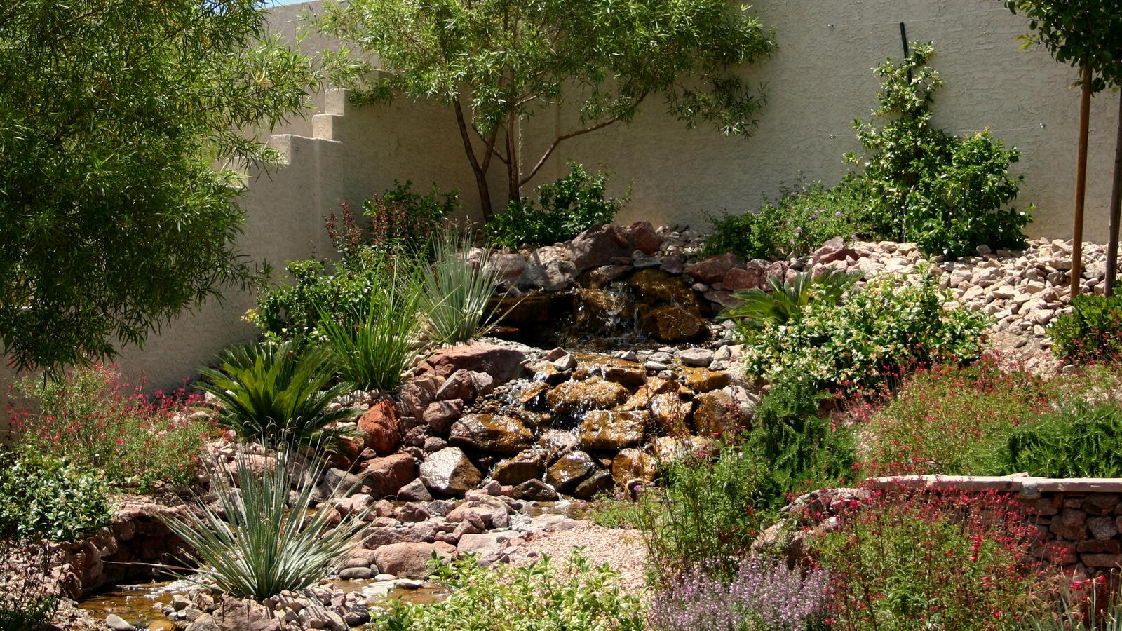 Waterfalls - Chip-N-Dale\'s Custom Landscaping